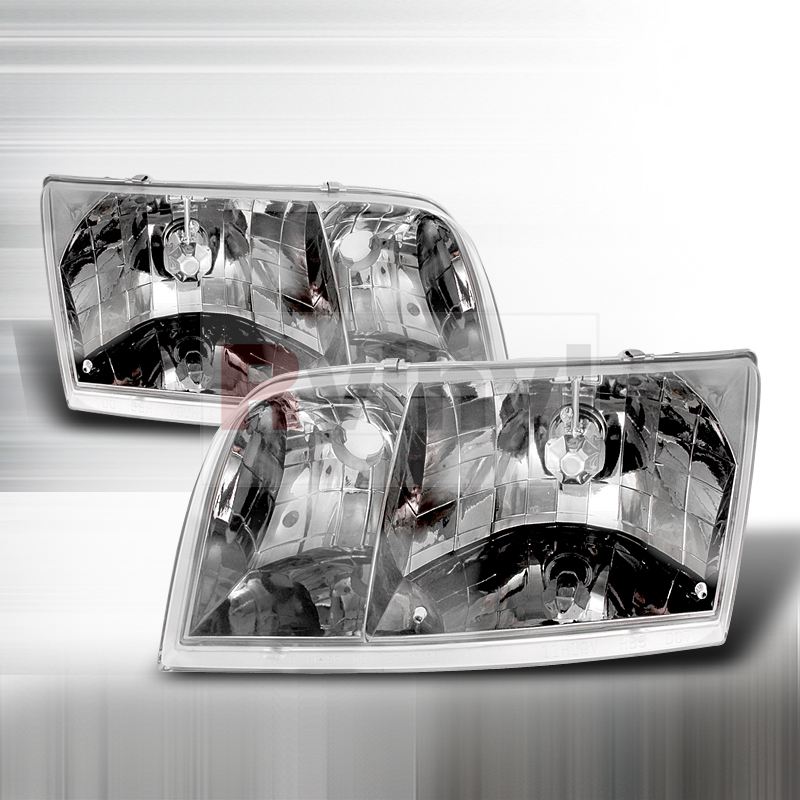 2001 Ford Crown Victoria Aftermarket Headlights