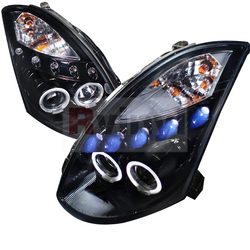 2006 Infiniti G35 Aftermarket Headlights