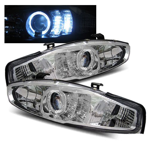 1999 Mitsubishi Mirage Aftermarket Headlights
