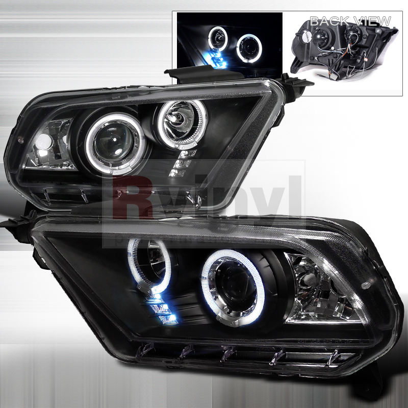 2011 Ford Mustang Aftermarket Headlights