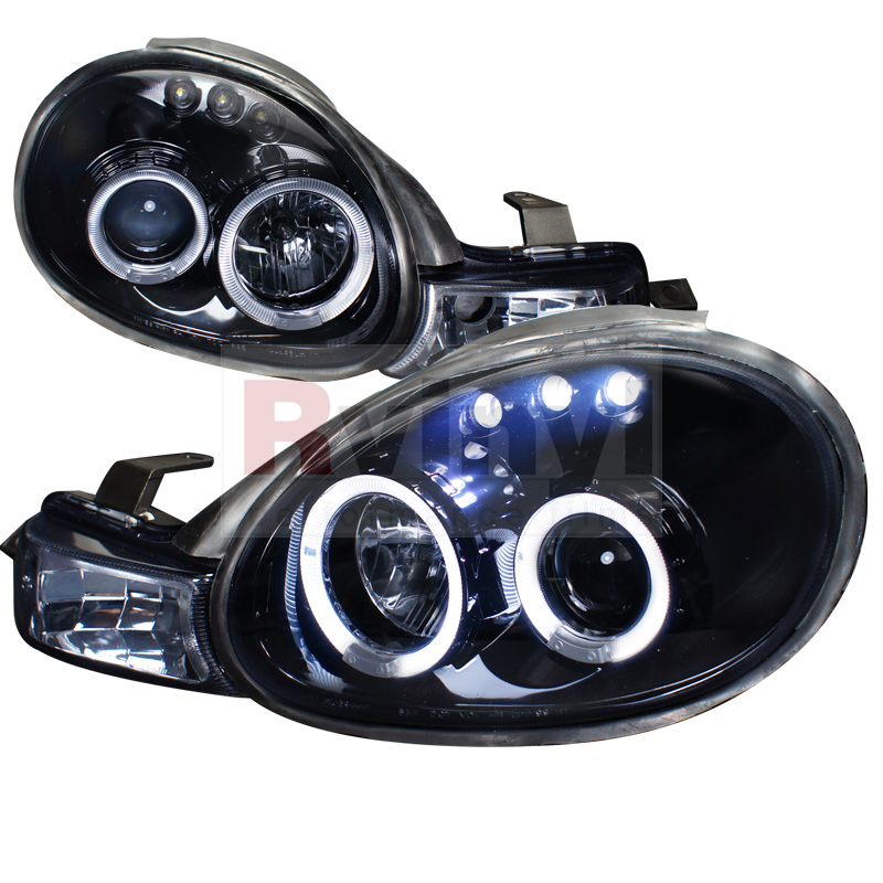 2001 Dodge Neon Aftermarket Headlights