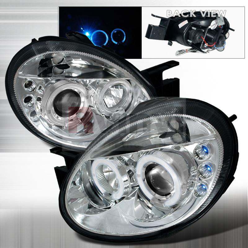 2004 Dodge Neon Aftermarket Headlights