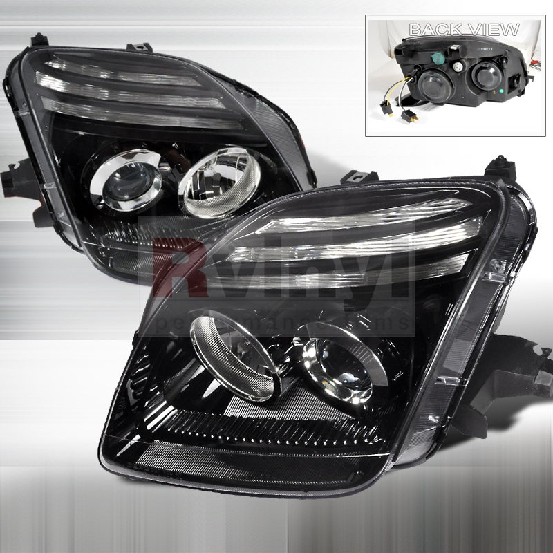 2001 Honda Prelude Aftermarket Headlights
