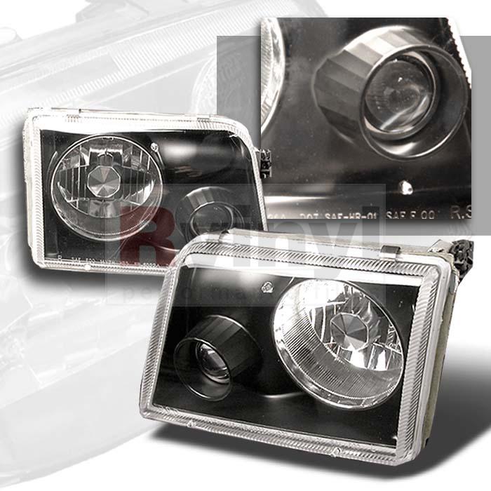 1997 Ford Ranger Aftermarket Headlights