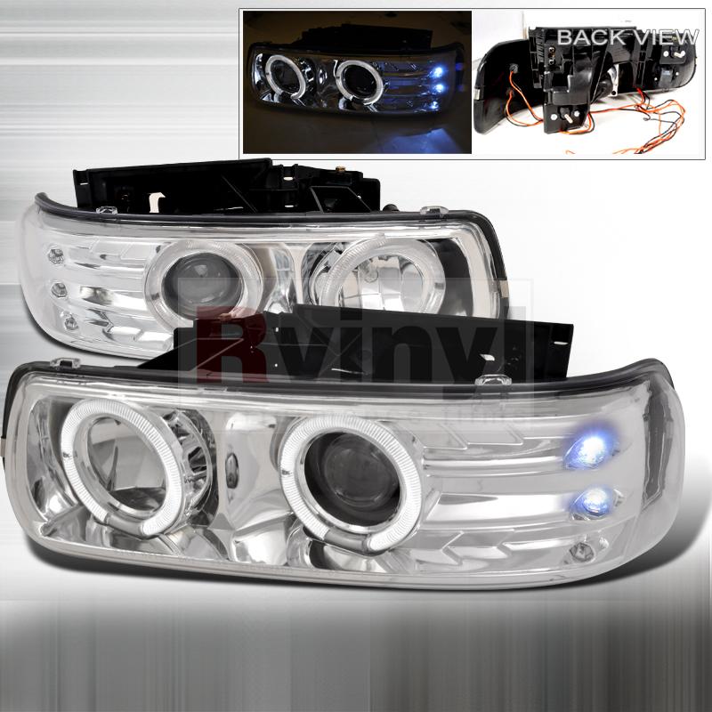 2000 Chevrolet Silverado Aftermarket Headlights