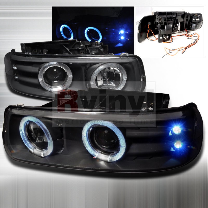Chevy Silverado Tail Lights 2005 Chevrolet Tahoe Custom Headlights | Aftermarket ...