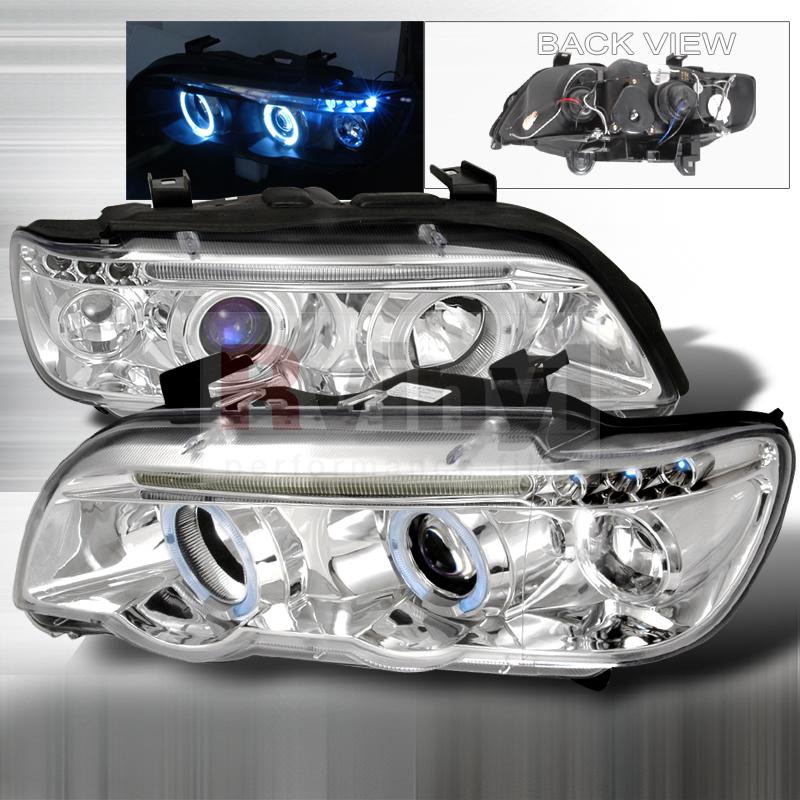 2003 BMW X5 Aftermarket Headlights
