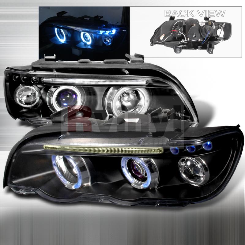 2001 BMW X5 Aftermarket Headlights
