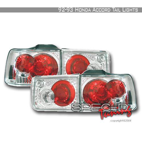 1993 Honda Accord Aftermarket Tail Lights
