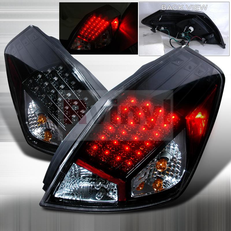 2009 Nissan Altima Aftermarket Tail Lights
