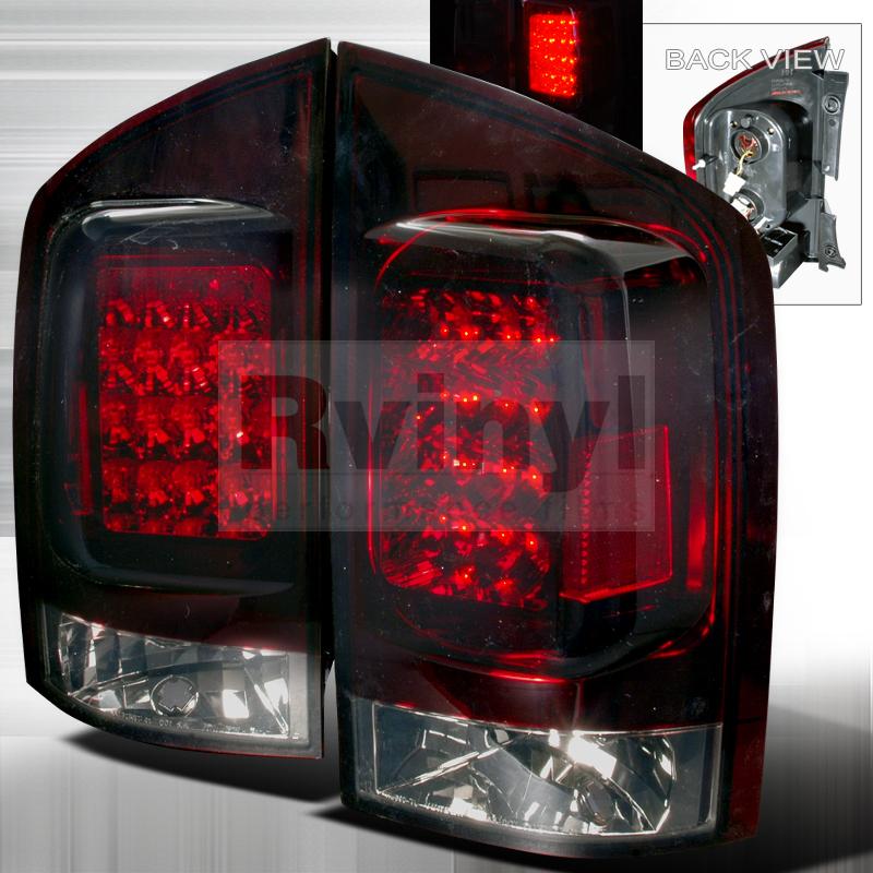 2008 Nissan Armada Aftermarket Tail Lights