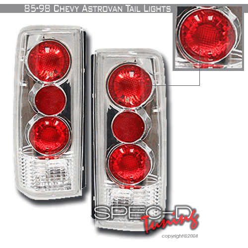 1996 Chevrolet Astro Aftermarket Tail Lights