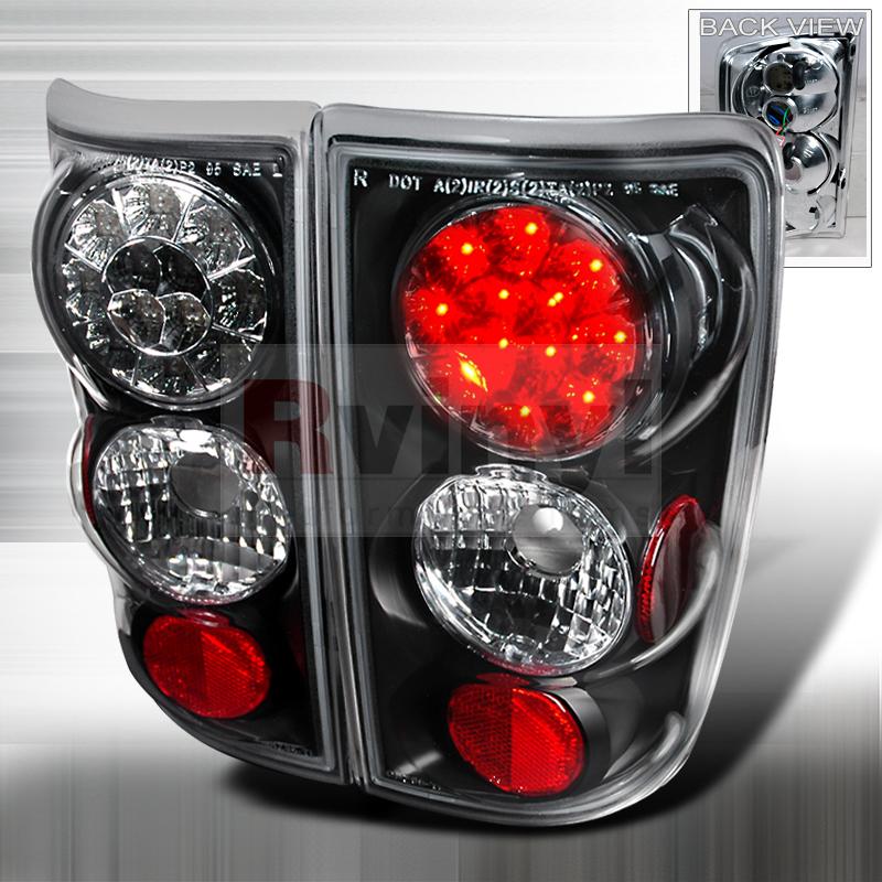 2001 Chevrolet Blazer Aftermarket Tail Lights