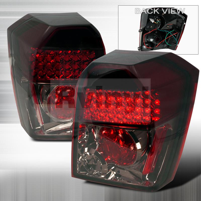2010 Dodge Caliber Aftermarket Tail Lights
