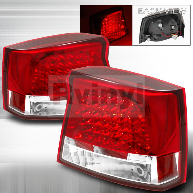 2006 Dodge Charger Aftermarket Tail Lights