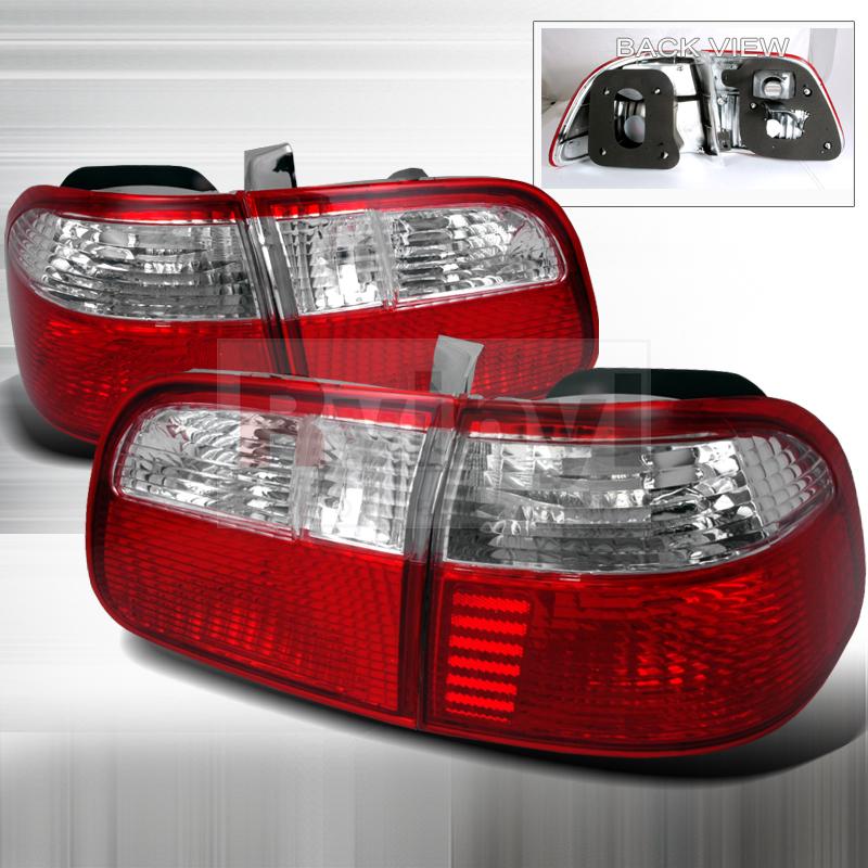 2000 Honda Civic Aftermarket Tail Lights