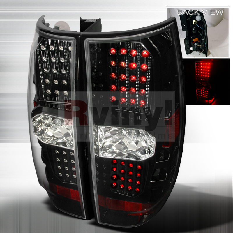 2010 Chevrolet Tahoe Aftermarket Tail Lights