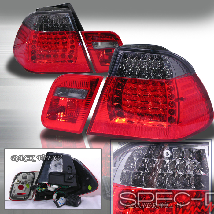 2000 BMW 3-Series Aftermarket Tail Lights