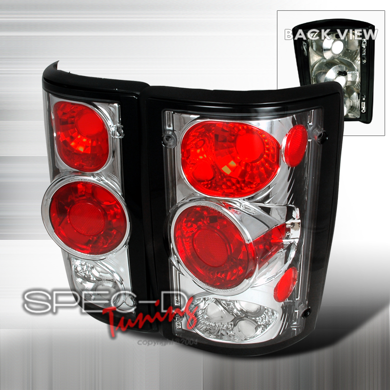 1997 Ford E-450 Aftermarket Tail Lights