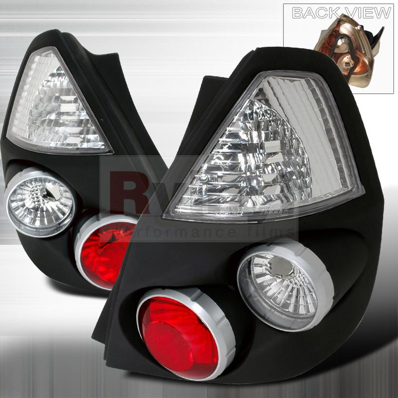 2007 Honda Fit Aftermarket Tail Lights