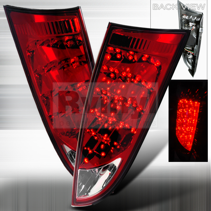2001 Ford Focus Aftermarket Tail Lights