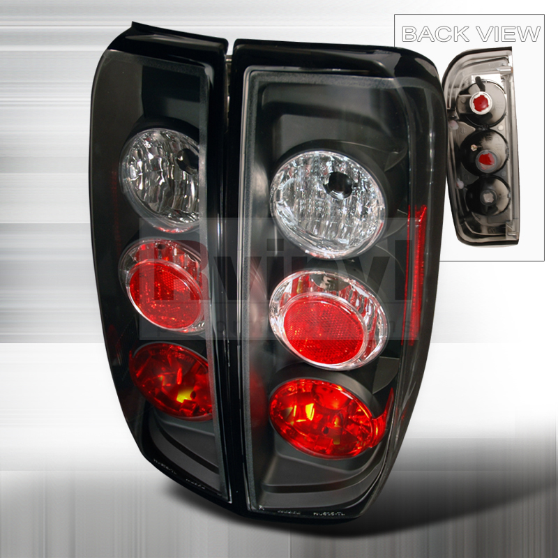 2009 Nissan Frontier Aftermarket Tail Lights
