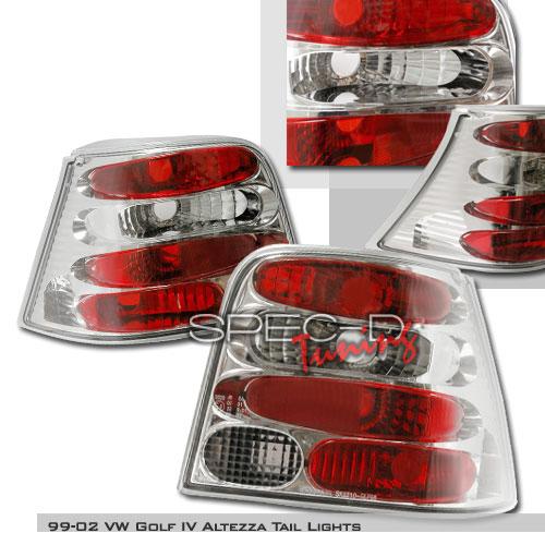 2000 Volkswagen Golf Aftermarket Tail Lights