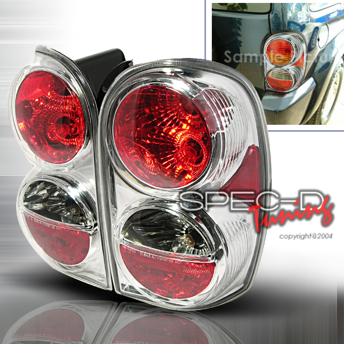 2004 Jeep Liberty Aftermarket Tail Lights