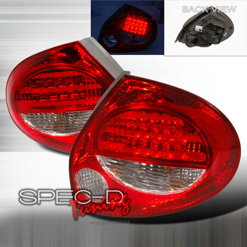 2002 Nissan Maxima Aftermarket Tail Lights
