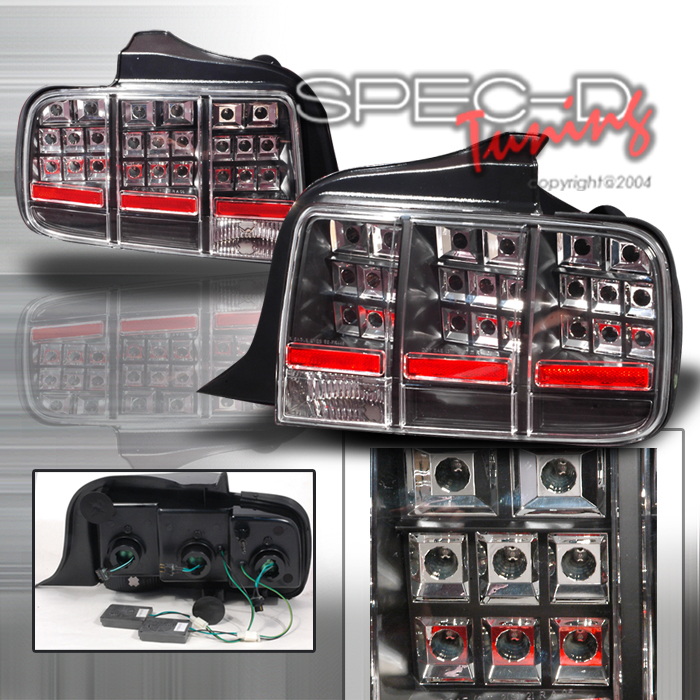 2009 Ford Mustang Aftermarket Tail Lights