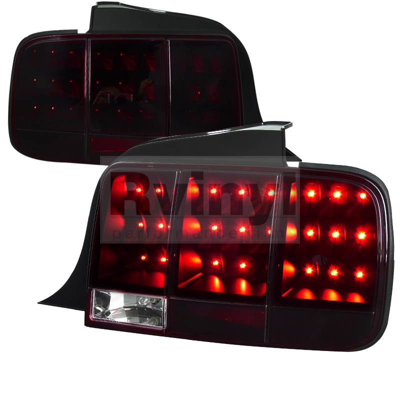 2007 Ford Mustang Aftermarket Tail Lights