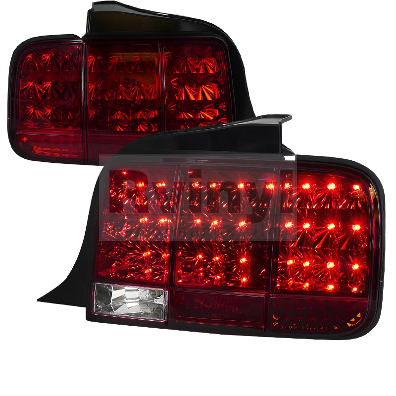2006 ford mustang custom tail lights 2006 ford mustang. Black Bedroom Furniture Sets. Home Design Ideas
