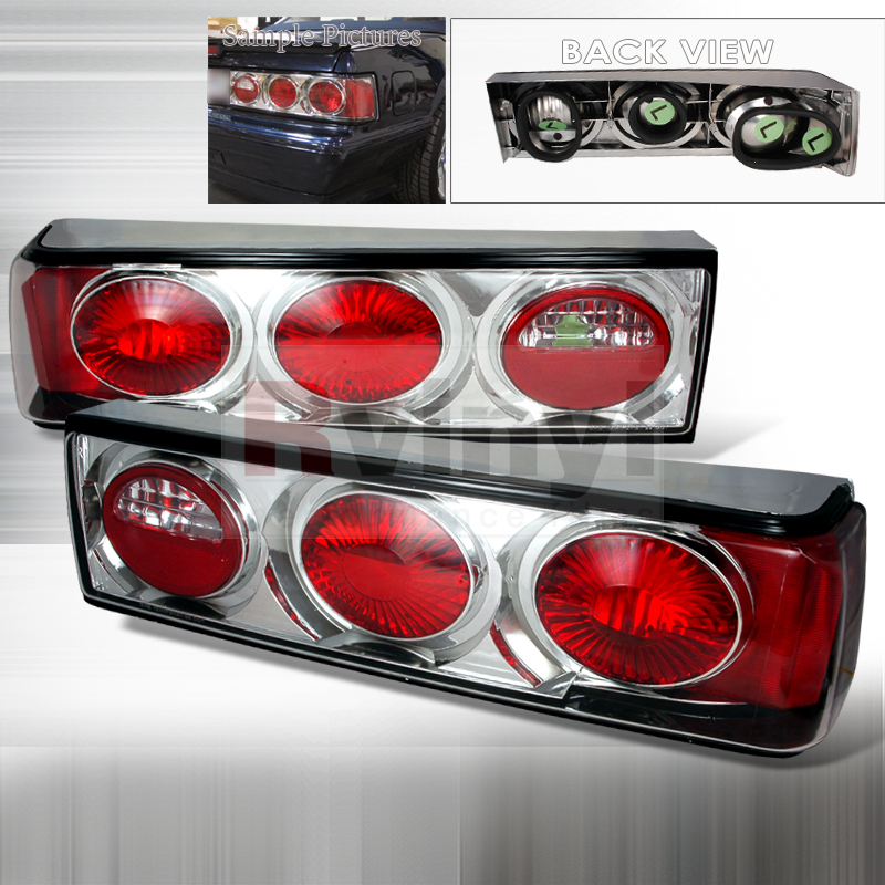 1987 Ford Mustang Aftermarket Tail Lights