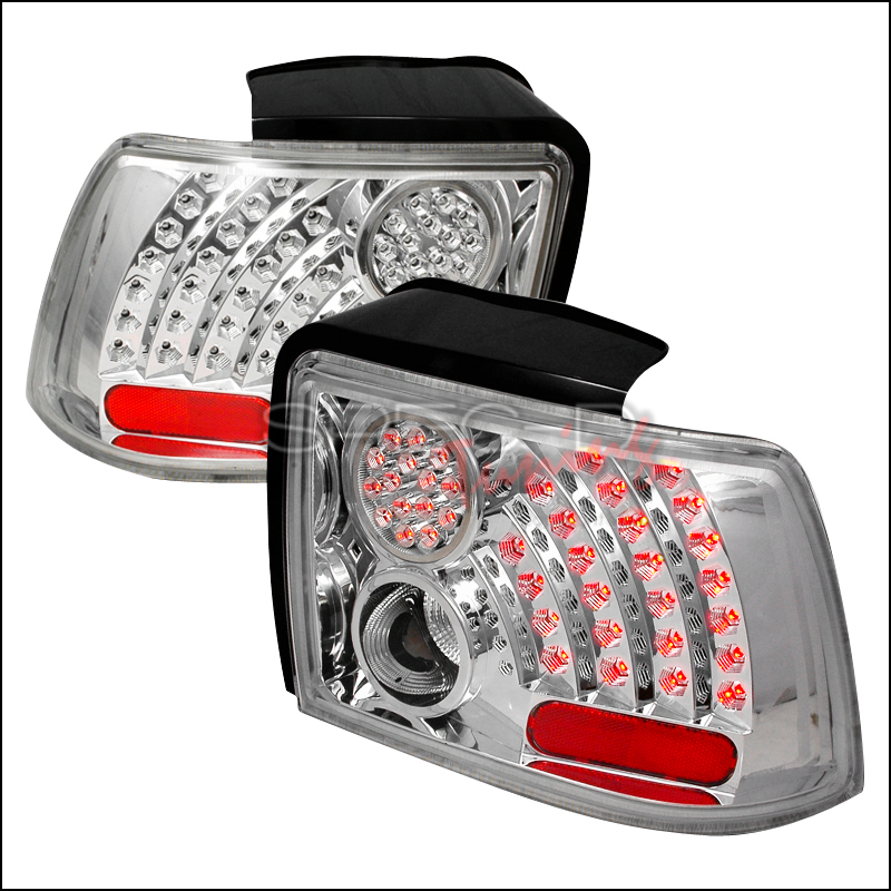 2004 Ford Mustang Aftermarket Tail Lights