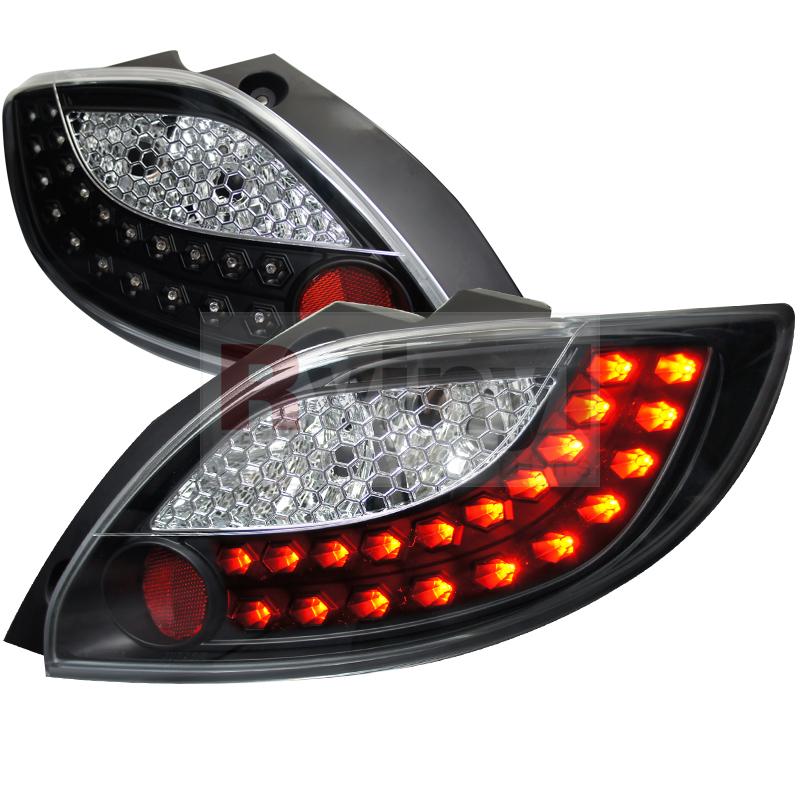 2011 Mazda Mazda2 Aftermarket Tail Lights
