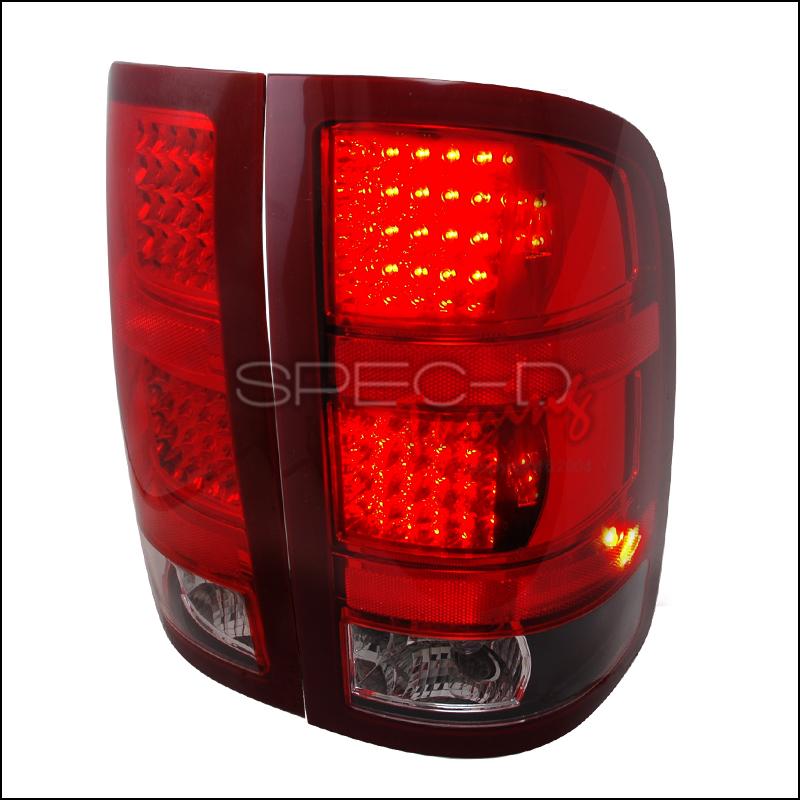 2009 GMC Sierra Aftermarket Tail Lights