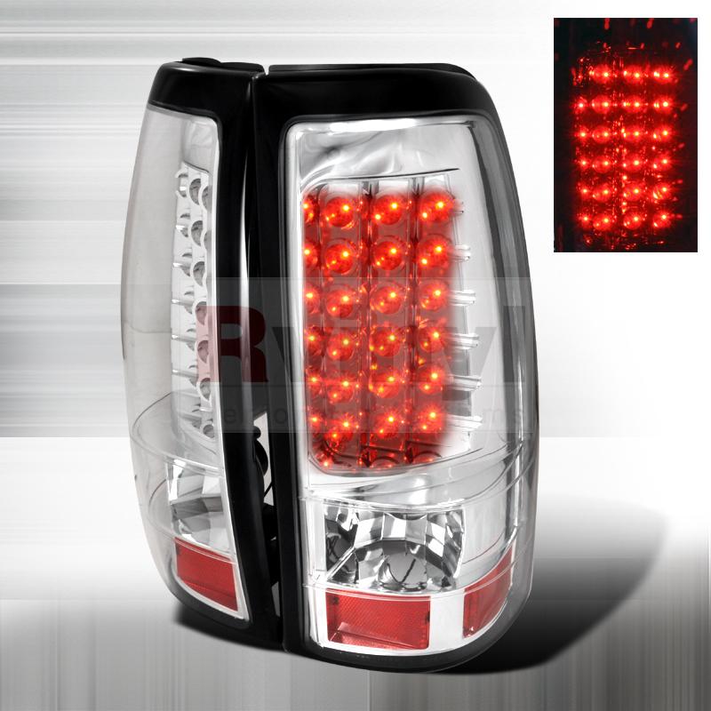 2006 Chevrolet Silverado Aftermarket Tail Lights