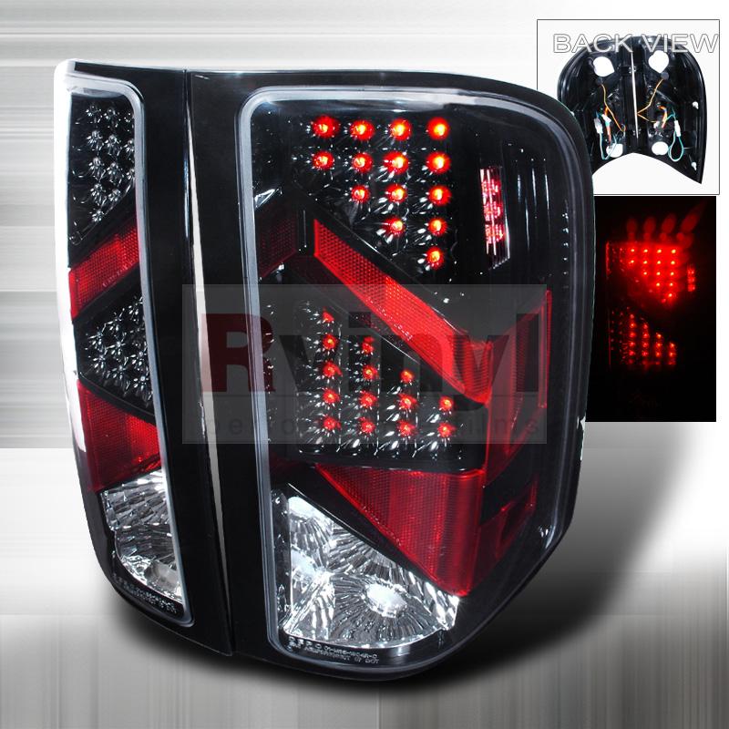 2008 Chevrolet Silverado Aftermarket Tail Lights