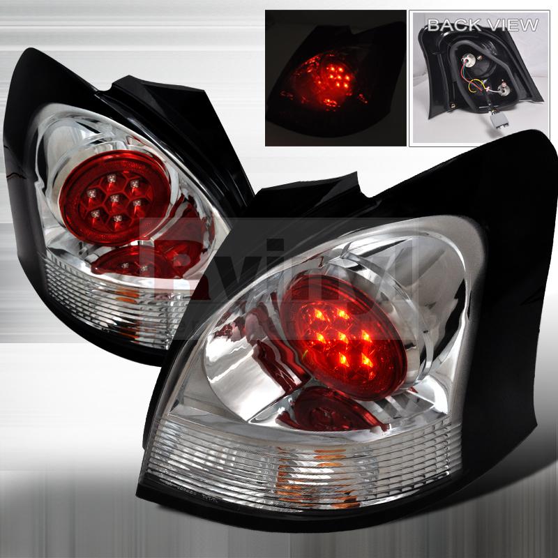 2008 Toyota Yaris Aftermarket Tail Lights