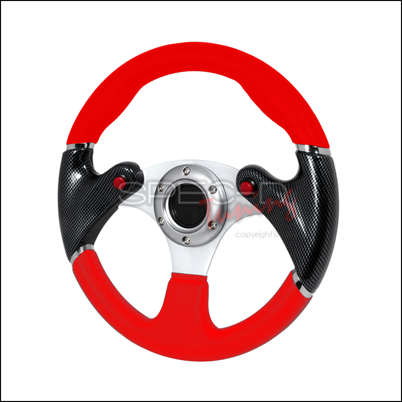 F-16 Red Steering Wheel 