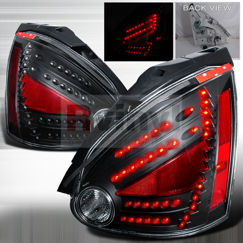 Spec D Tuning 174 Nissan Maxima 2004 2008 Black Led Tail Lights
