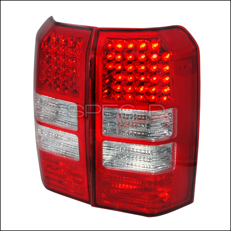 Spec-D Tuning® Jeep Patriot 2007-2011 Red LED Tail Lights