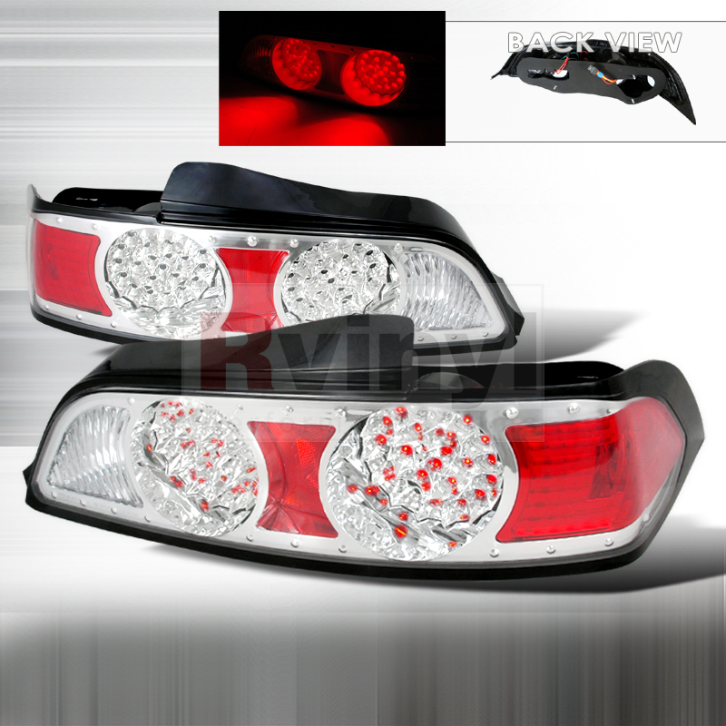 Spec-D Tuning® Acura RSX 2005-2006 Chrome LED Tail Lights